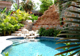 todos santos inn bed and breakfast pool