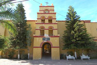 Our Lady Pilar de La Paz Church Todos Santos